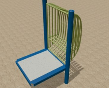 Steel Balcony Play Seat
